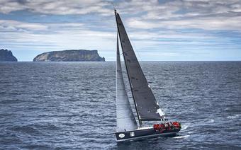 """Jacht """"Balanca"""" - zwycięzca regat Rolex Sydney Hobart 2015"""