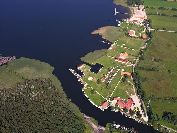 Mazury, Pisz, jezioro w Piszu